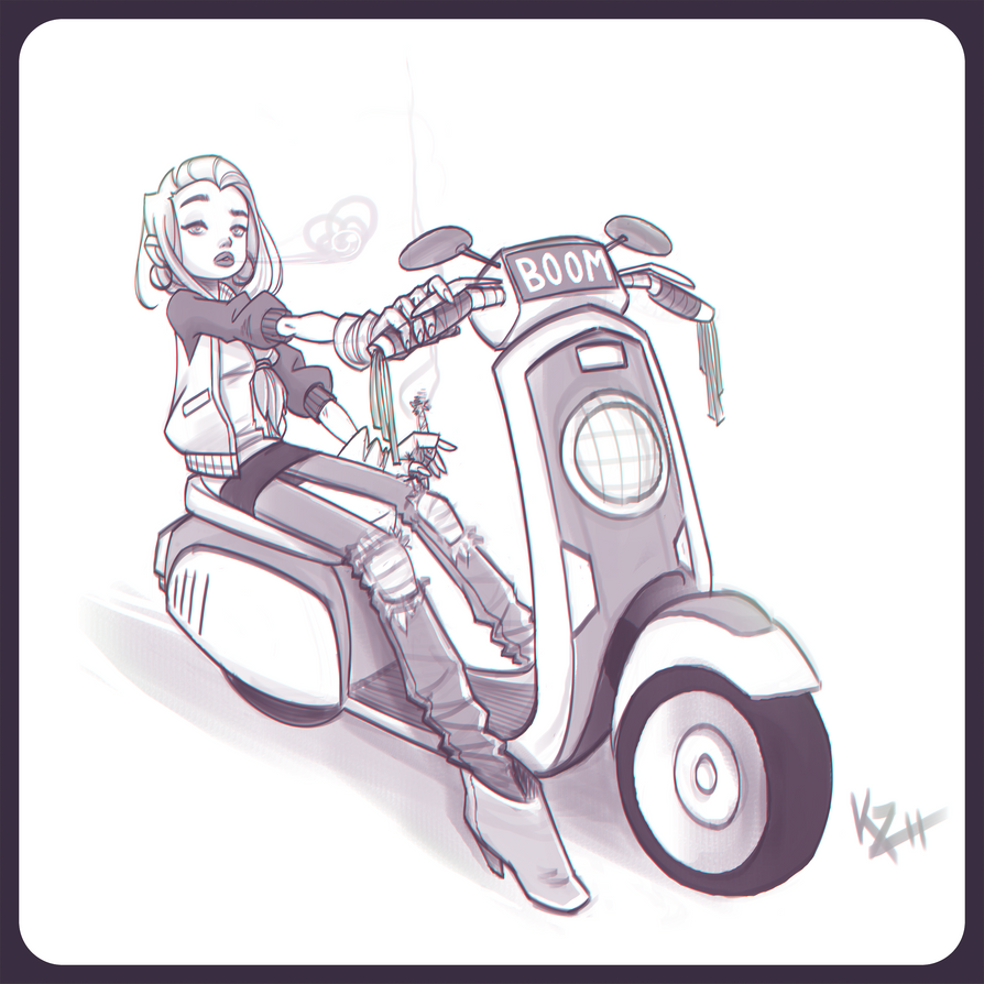 skooter by kiska242
