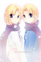 x Twins x by AoiTorix