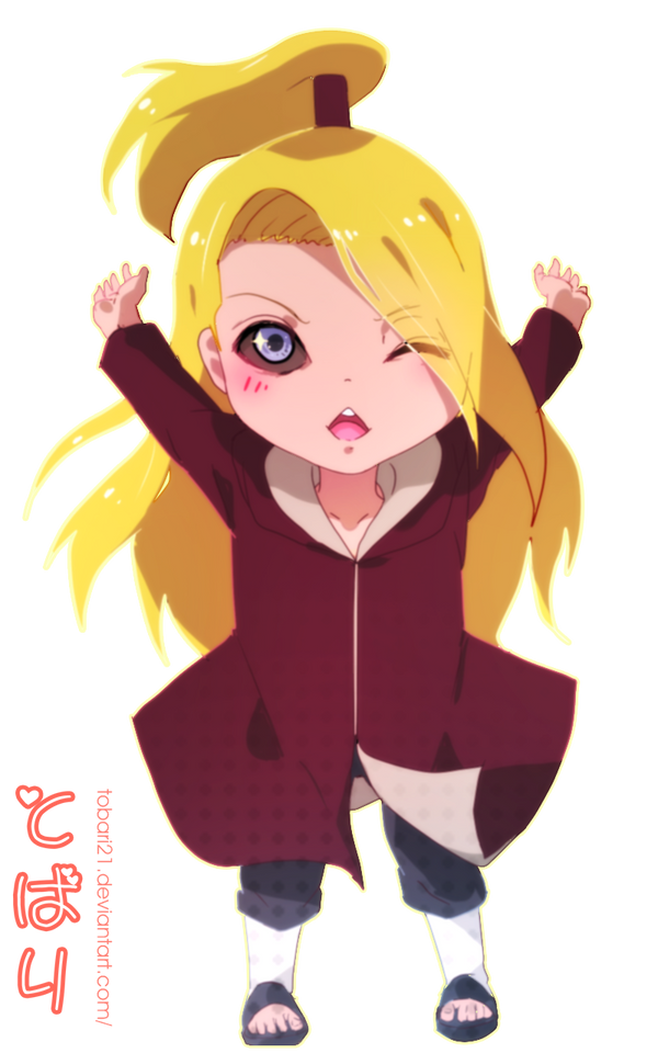 Chibi Deidara + video by AoiTorix