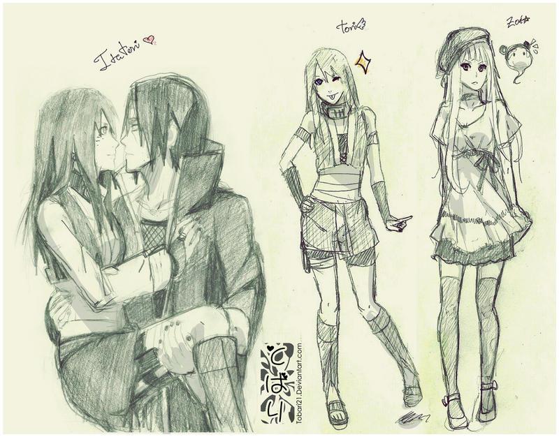 3sketches by Tobari21