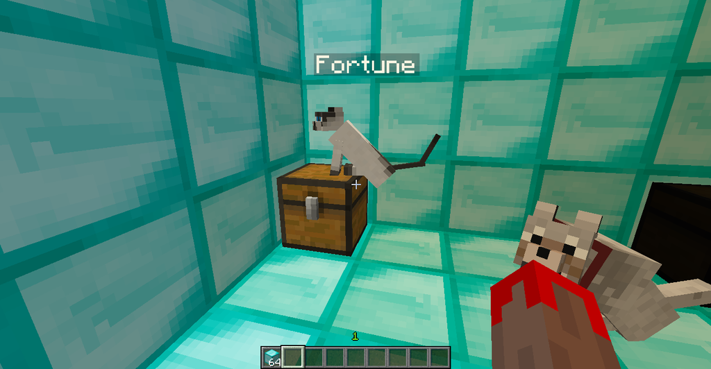minecraft how to get fortune 3