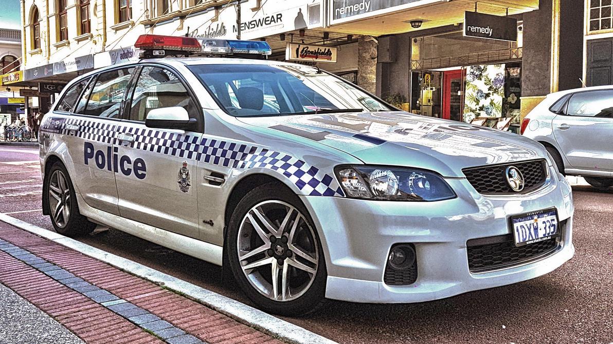 WA Police car - Fremantle by macsix