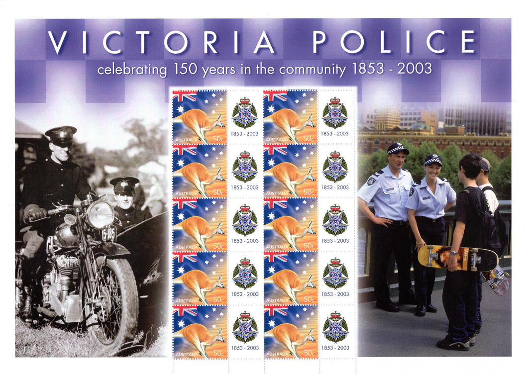 Victoria Police - 150 years of service by macsix