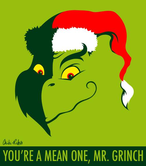 Mean Mr Grinch By FyeDFluorite