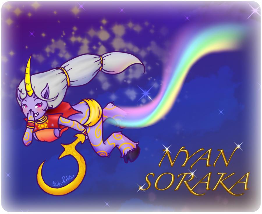 Nyan Soraka by FyeDFluorite