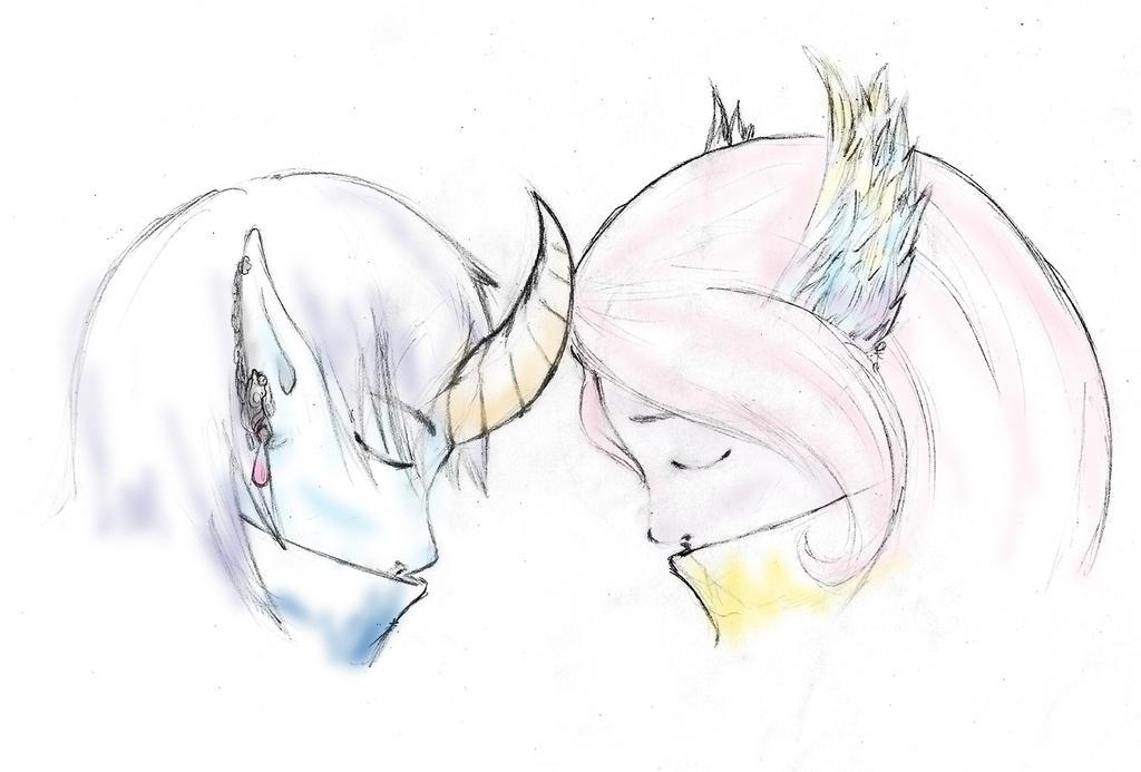 Lovers by FyeDFluorite