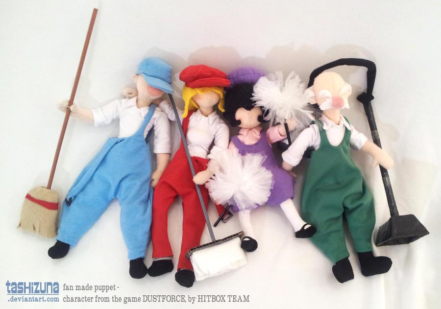 Dustforce Puppets