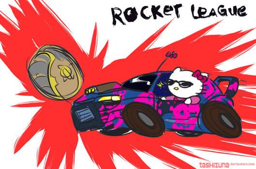 Rocket League Badass Kitty