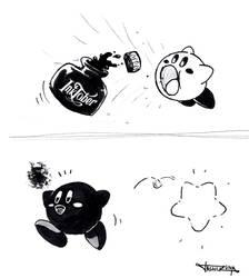 Kirby Inktober fanart
