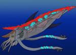 Giant Cephalopod Creature