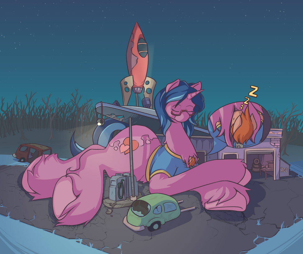 One Quiet Night by chibiBiscuit