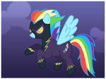 Rainbow Dash: Shadowbolt