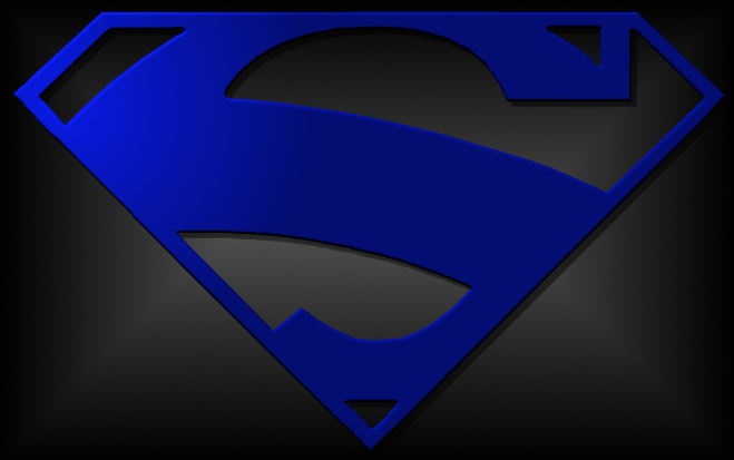 Superman Logo Blue by jt99jt on DeviantArt