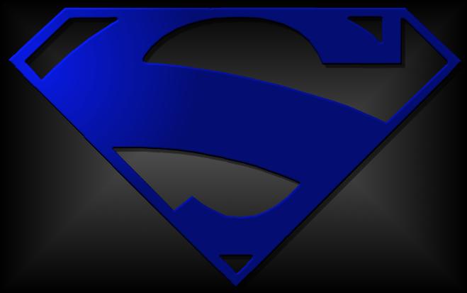 Superman Logo Blue by jt99jt on DeviantArt