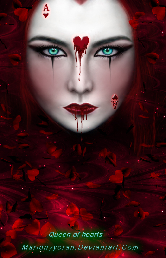 Queen Of Hearts By RubyRosy On DeviantArt