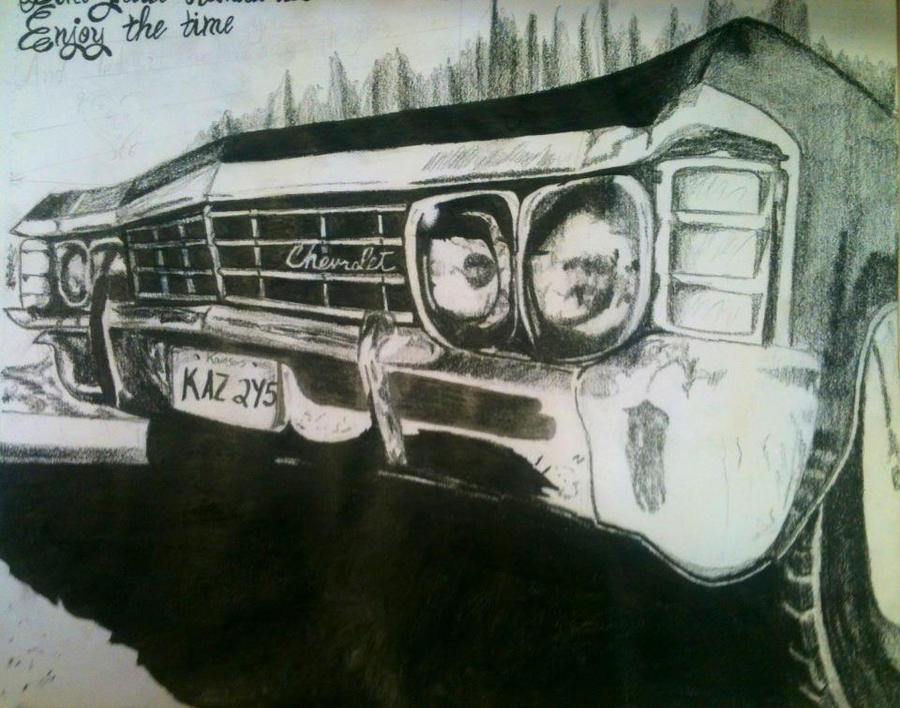 Awesome Supernatural Impala Wallpaper