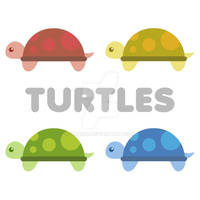 Turtles by xraiko