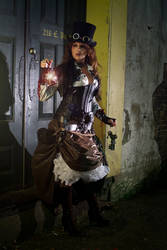 steampunk fashion 10 by DizyDezi
