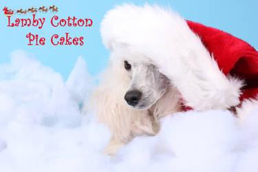 Lamby Cotton Pie Cakes