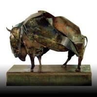 Bison Antiquus by livesteel