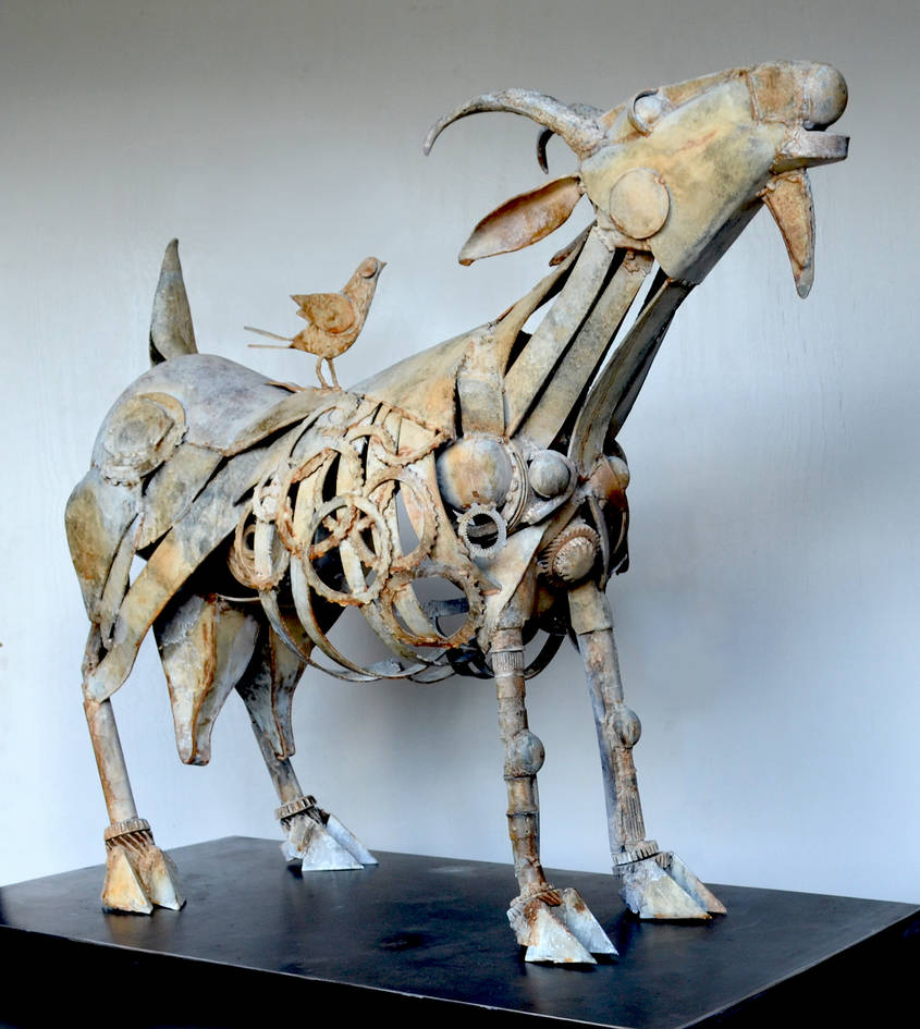 Picasso's Goat by livesteel