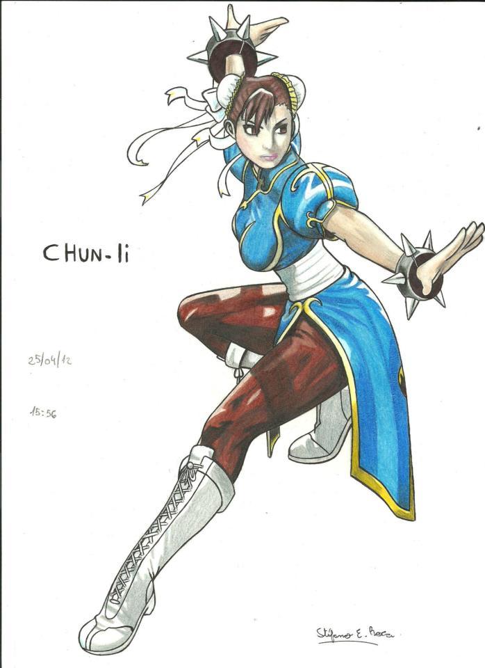Chun Li by stefano-roca