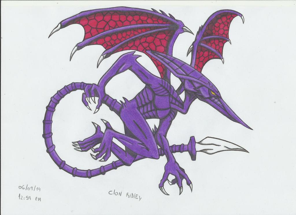 Ridley Clon!! by stefano-roca
