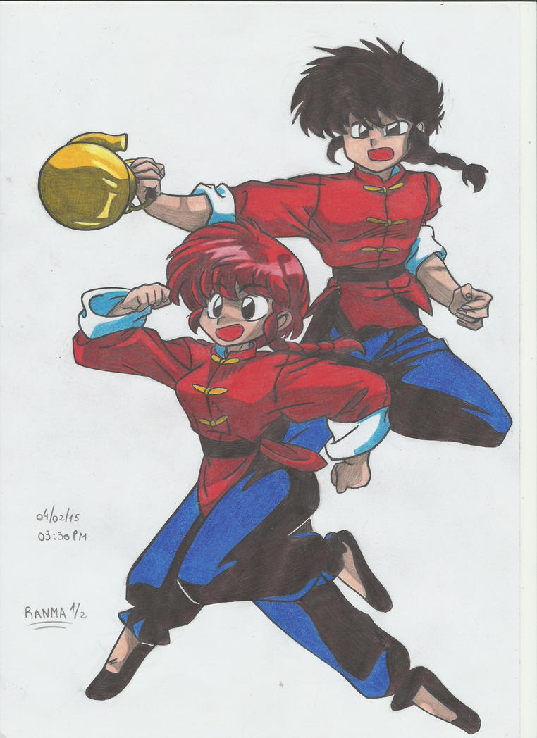 RANMA 1/2 !!!!! by stefano-roca