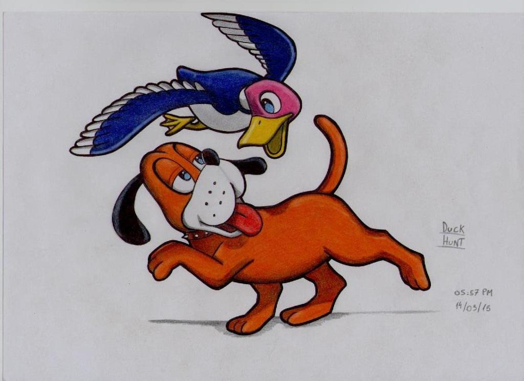 Duck Hunt by stefano-roca