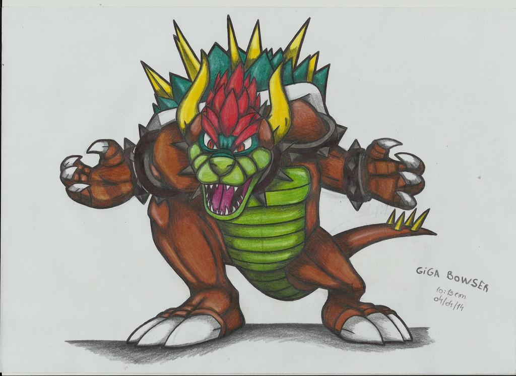 Giga Bowser 2 !!! by stefano-roca