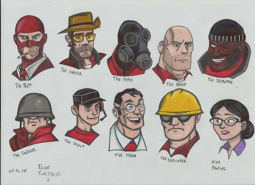 Team Fortress 2 by stefano-roca