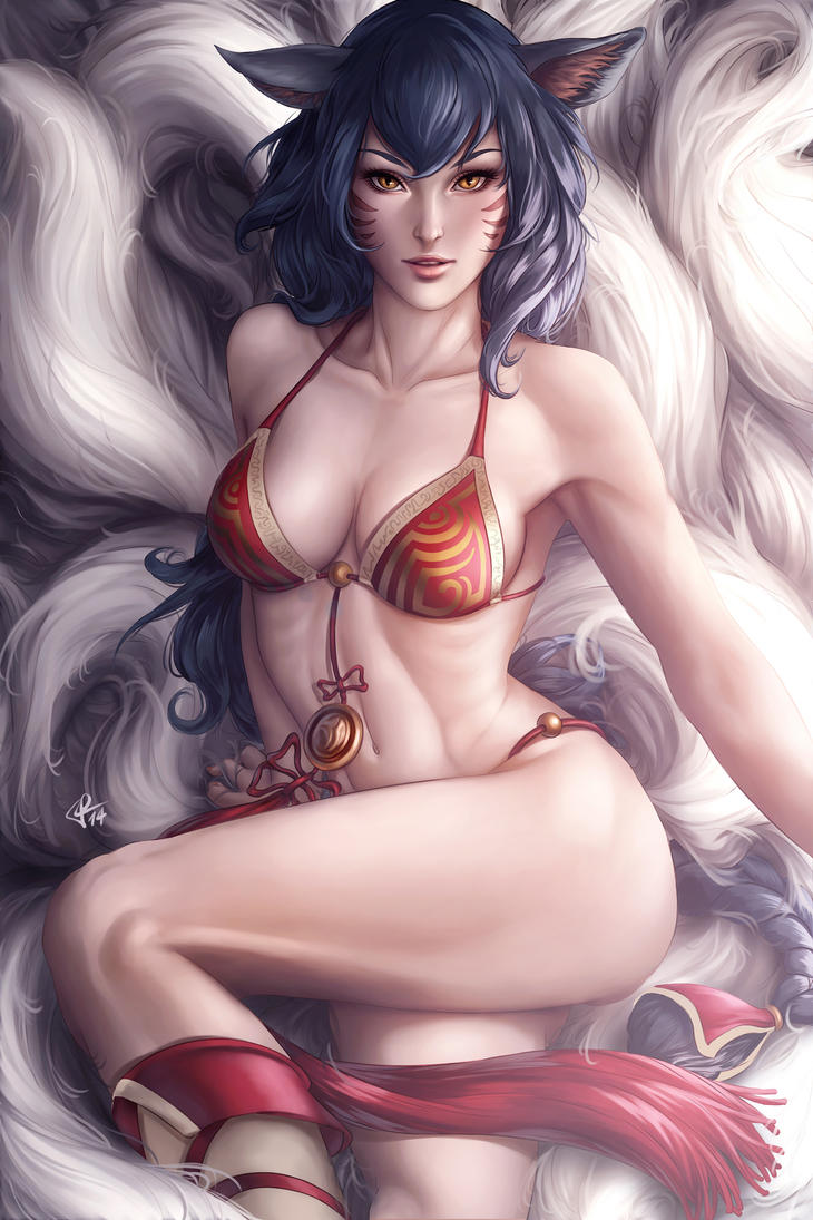Ahri by AivaBlue
