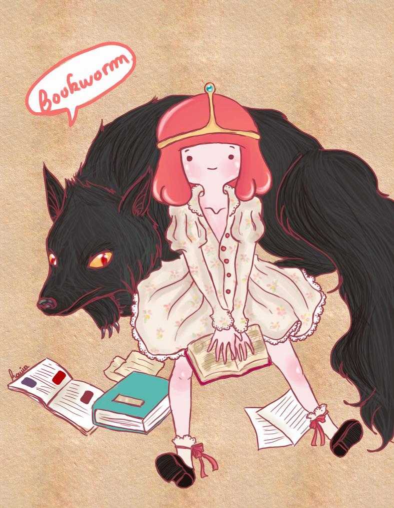 Bookworm by iwannakissallama