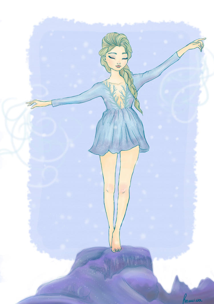 The cold never bothered me anyway by iwannakissallama