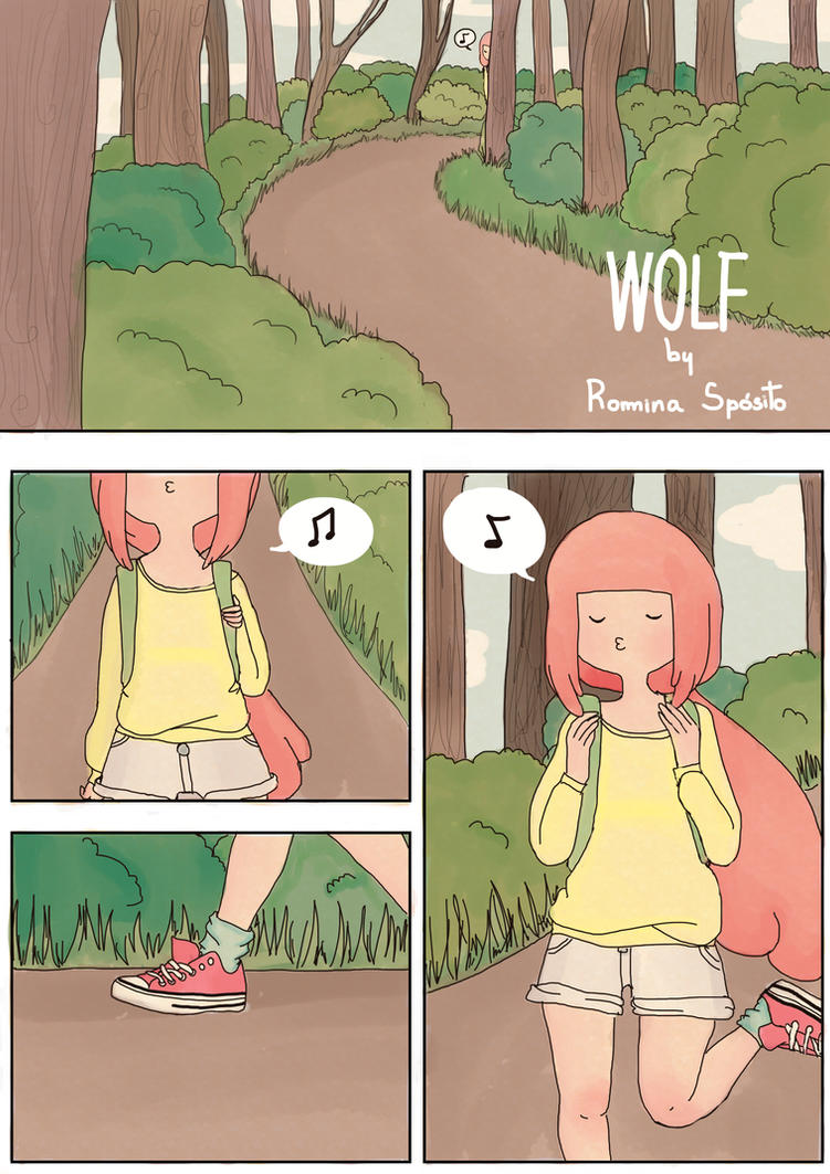 WOLF pg 1 by iwannakissallama