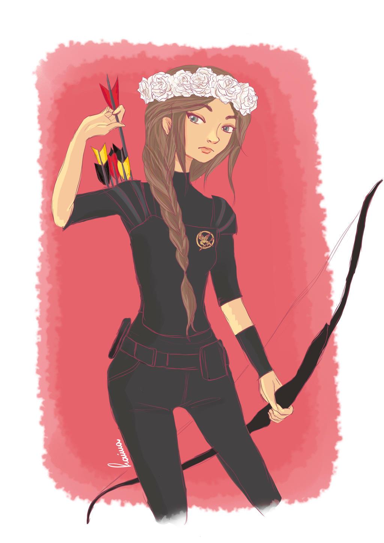 Katniss by iwannakissallama