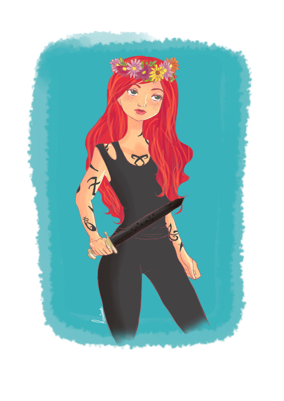 Clary by iwannakissallama