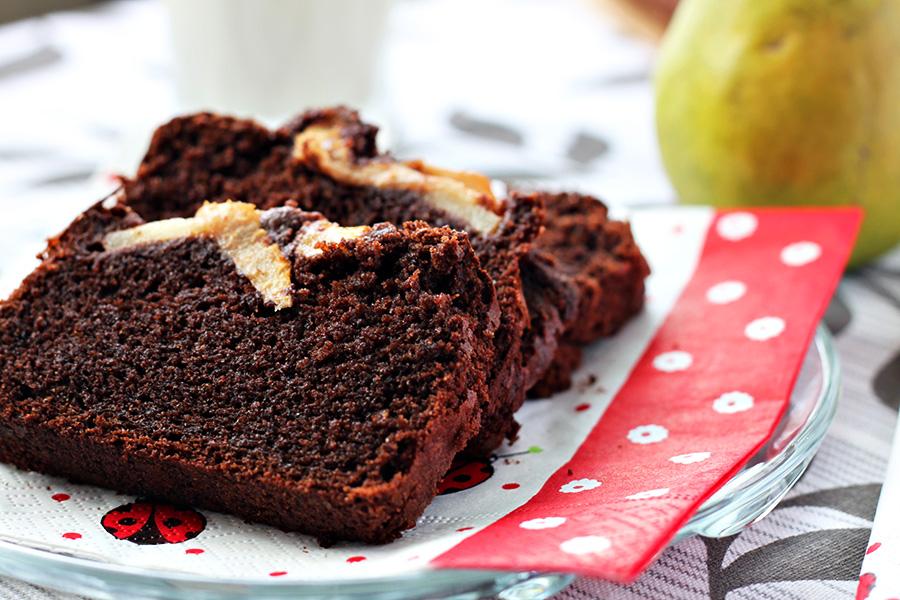 torta pere e cioccolato / cake with pears and chocolate