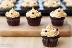 Choco Peanut butter cupcakes
