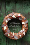 Christmas Chocolate Wreath