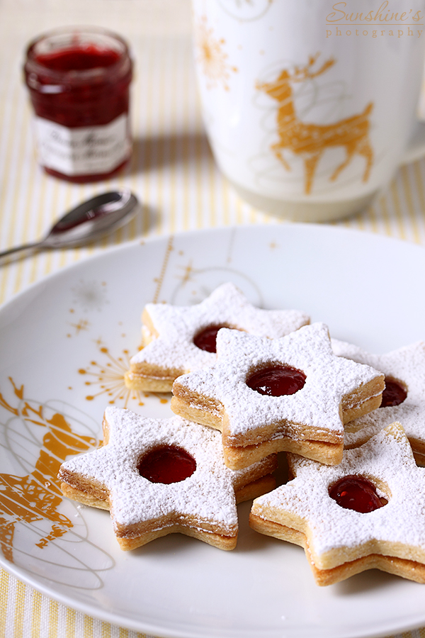 Linzer cookies by kupenska