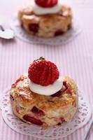 Strawberry lime scones by kupenska