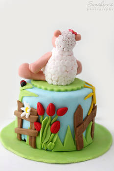 Mini spring cake