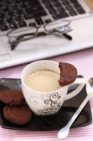 Chocolate cookies by kupenska