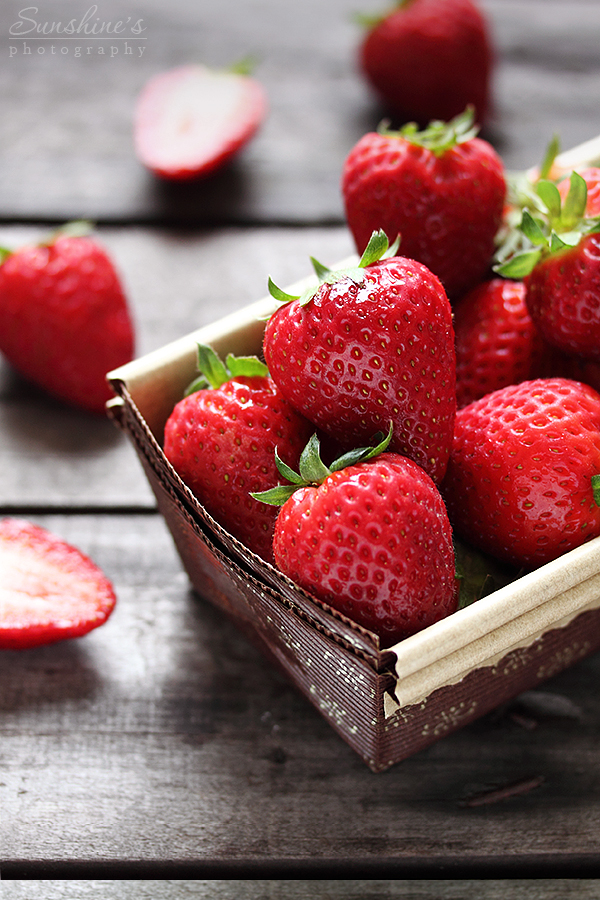 Fresh strawberries by kupenska