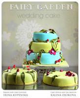 Fairy wedding cake by kupenska