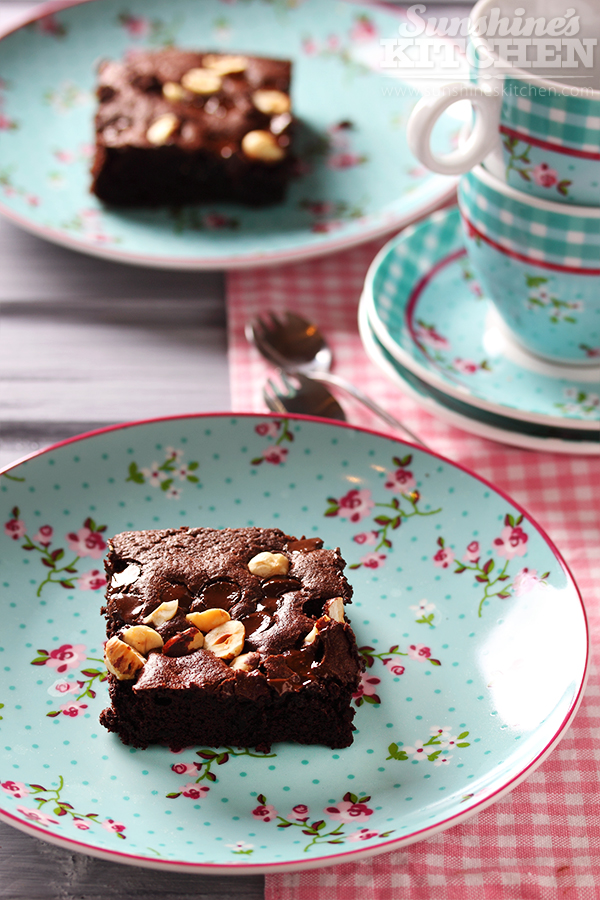 Chocolate brownies by ~kupenska