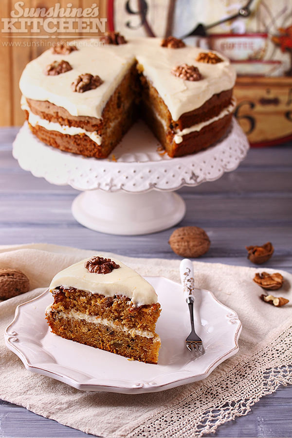 Carrot cake by kupenska