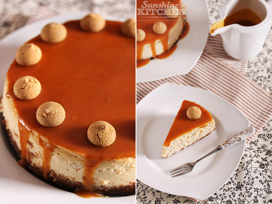 Amaretti cheesecake by kupenska