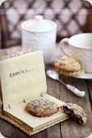 Oatmeal cookies vintage style by kupenska